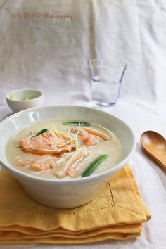 Salmon Congee (Rice Porridge) Recipe