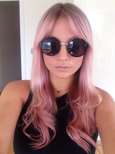 Pink hair by Bleach London