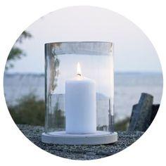 Rakenna riukuaita   Meillä kotona Pillar Candles, Candles