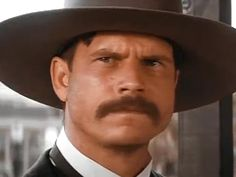 """Look at all the stars. You look up and you think, """"God made all this and He remembered to make a little speck like me."""" It's kind of flattering, really. Bill Paxton as Morgan Earp.  RIP❤"""