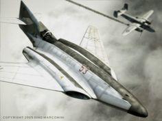 Me 262 HG III Entwurf III