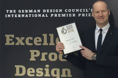 German Design Award Medical technology from Dürr Dental receives famous award  More info: http://ow.ly/vEjt300Xwq4 (ml/rf)  #dlife #bestlife #dentistry #medicaltechnology #dental #dürrdental