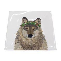 Tabletop Accessories - Plates – Page 3 – Paperproducts Design Tabletop Accessories, Square Plates, Fine Paper, Create Image, Fine Porcelain, Art Images, Wolf, Lion Sculpture, Seasons