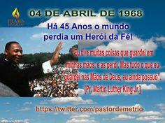 Homenagem Ao Pastor Martin Luther King Jr.