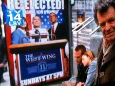 The West Wing is still on in the alternate universe Fringe