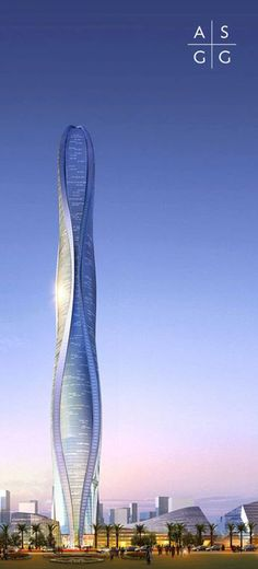1 Park Avenue, Adrian Smith and Gordon Gill Architecture, Dubai, United Arab Emirates, landmark architecture, signature design, sustainable architecture, mixed-use, undulating form