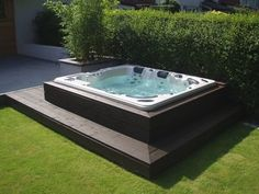 #homeideas #jacuzzi #poollanscaping #poollandscape
