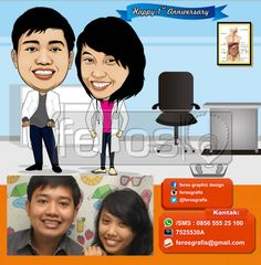 #caricature #caricatures #toon #drawing #vector #paint #digital #karikatur #family #potrait #girl #photo #photograph #prewedding #wedding #couple #love #marriage #sweet #lover #indonesia #honeymoon #doctor #healthy #medical #lovely #dentist