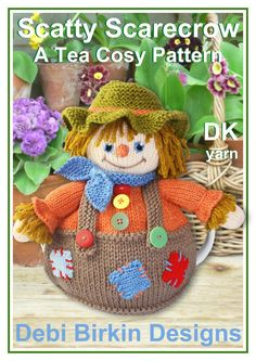 Scarecrow tea cosy pattern download.