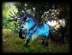 -SOLD Posable Galaxy Stag! by Wood-Splitter-Lee, find her on Deviantart.com !
