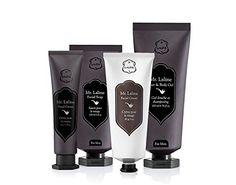 Mr Laline Set : Hair & Body Gel , Hand Cream , Facial Soap , Facial Cream - 4 piece Christmas Gift