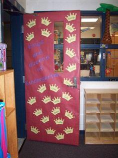 Kings and queens door idea