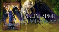 #ParanormalRomance #Giveaway – Win Any #NaliniSingh Novel! #kindle #amreading