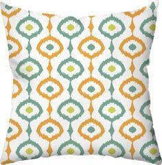 Ikat Outdoor Throw Pillow