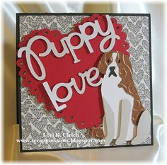 Fancy Pants Love Story DP, Cricut  cuts from Pet Shop and Sweethearts cartridges