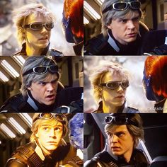 | Evan Peters as Quicksilver - X-men : Apocalypse |