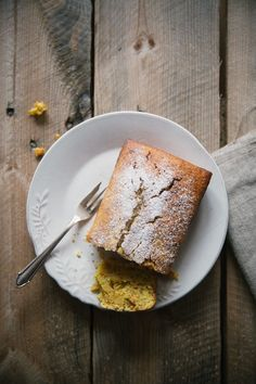Orange, Spelt and Almond Cake / vegan — helena la petite