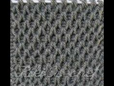 Crochet Tunisian Smock Stitch