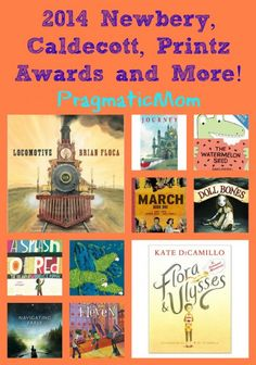 2014 Literature award winners - Newberry, Caldecott and more