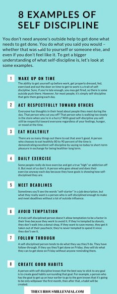 8 Examples Of Good Self Discipline - The Curious Millennial You don't need anyone's outside help to get done what needs to get done.Here are 8 proven ways to help build that self discipline and slay! Discipline Quotes, Self Discipline, Positive Discipline, John Maxwell, Robert Kiyosaki, Successful People Quotes, Affirmations, Encouragement, Self Care Activities