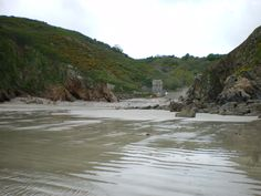 Petit Bot at low tide, Guernsey, Channel Islands, UK