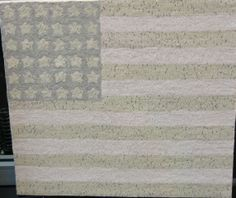 Polly Minick design -- Faded Flag