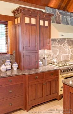 Craftsman Kitchen© Crown Point Cabinetry (crown Point.com). Used By