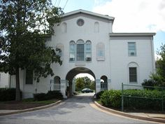 Gatehouse entrance to Mt de Sales Academy - Catholic High School for girls - Catonsville, Md.