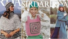 free 70's knitting patterns from Sirdar