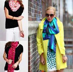 Scarves, scarves scarves(: