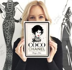 Megan Hess- Coco Chanel book launch – Spice & Heels