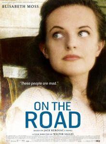 Poster de On The Road con Elisabeth Moss. #postermania