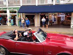 Guy Fieri filming on Duval Street!