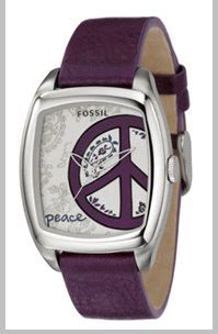 mens peace sign watch - Google Search