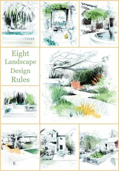 Eight rules for creating a satisfying garden that is neither fussy nor…
