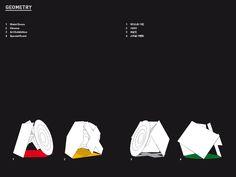 The Prada Transformer by OMA prada-transformer.com Kinetic Architecture, Transformers 3, Rem Koolhaas, Thesis, Pavilion, Geometry, Prada, Cinema, Graphics