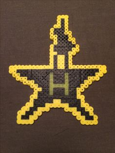 Perler Hamilton Logo! Designed by Heather Karavas ❤️