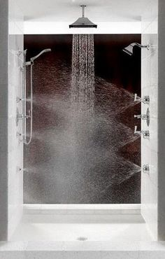 Dumbfounding Cool Ideas: Stand Up Shower Remodeling Diy corner stand up shower remodel.Fiberglass Shower Remodeling Home Depot walk in shower remodeling half walls.Corner Stand Up Shower Remodel. Dream Shower, Shower Tub, Rain Shower Bathroom, Bathroom Bin, Bathroom Vanities, Small Shower Remodel, Bath Remodel, Suite Master, Zen Master