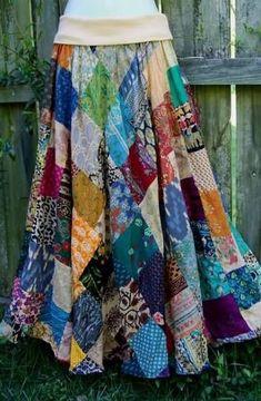 Dress diy boho gypsy fashion 55 ideas Source by Ideas boho Hippie Skirts, Boho Skirts, Wrap Skirts, Gypsy Style, Boho Gypsy, Boho Hippie, Hippie Style, Sewing Clothes, Diy Clothes