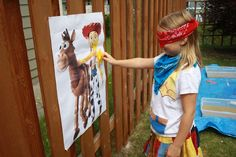 Cowboy/Cowgirl, Toy Story, Woody and Jessie  Birthday Party Ideas | Photo 8 of 70