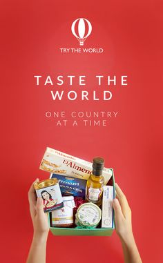 Taste delicious flavors imported directly from the country of origin and sent straight to your home. Discover the passion, culture, and foods with Try The World. Receive a gourmet box from a new country every month! Begin with a Box free trial today!