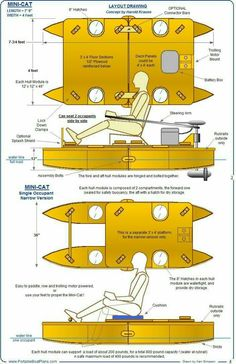 Pontoon boat dimensions