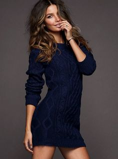 I will be getting this sweater dress! <3