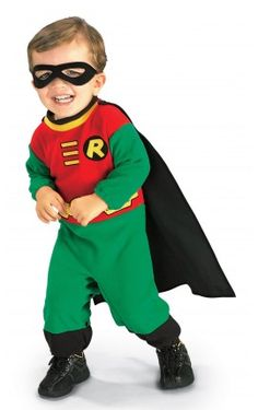 disfraz de robin batman para beb