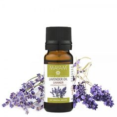 Lavandă BIO ulei esenţial (lavandula angustifolia), 10 ml Lavandula Angustifolia, Lavender Oil, Nervous System, Good To Know, Aromatherapy, Essential Oils, Perfume Bottles, Remedies, Organic