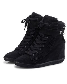 isabel marant sneakers black wedges boots shoes