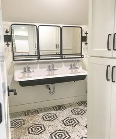 "It's one thing to get online or head over to a showroom and select a sink for a bathroom.  Design a bathroom and ultimately a second floor around the vintage three bay 60"" #KohlerBrockway you've fallen in love with😍😍."