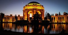 The lovely San Francisco Palace of Fine Arts - beautiful at daytime, gorgeous at twilight hour!  Learn more about German architect Bernard Maybeck's incredible achievement: http://www.goethe.de/ins/us/lp/kul/mag/deu/saf/arc/en1603711.htm By San Francisco Bay Area Photography - Google+