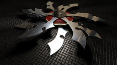 ninja star weapon fight fantasy metal'3D & Abstract 1920x1080 wallpaper