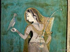 Bundi Paintings from Rajasthan